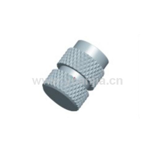 Mold self-locking knurled blind hole thread insert IBLC